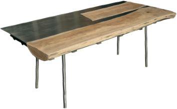 Gioielli d'arredamento da Martino Design: tavoli, sedie, cubi appesi