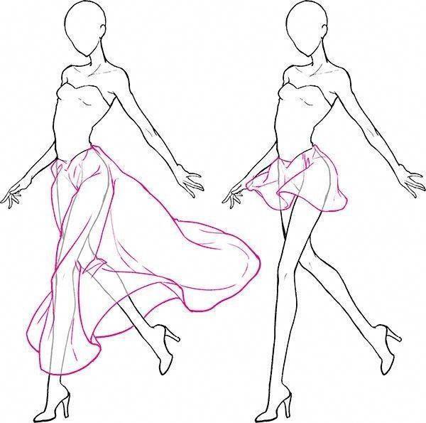 Lesen Sie die Informationen zum Zeichnen von Posen