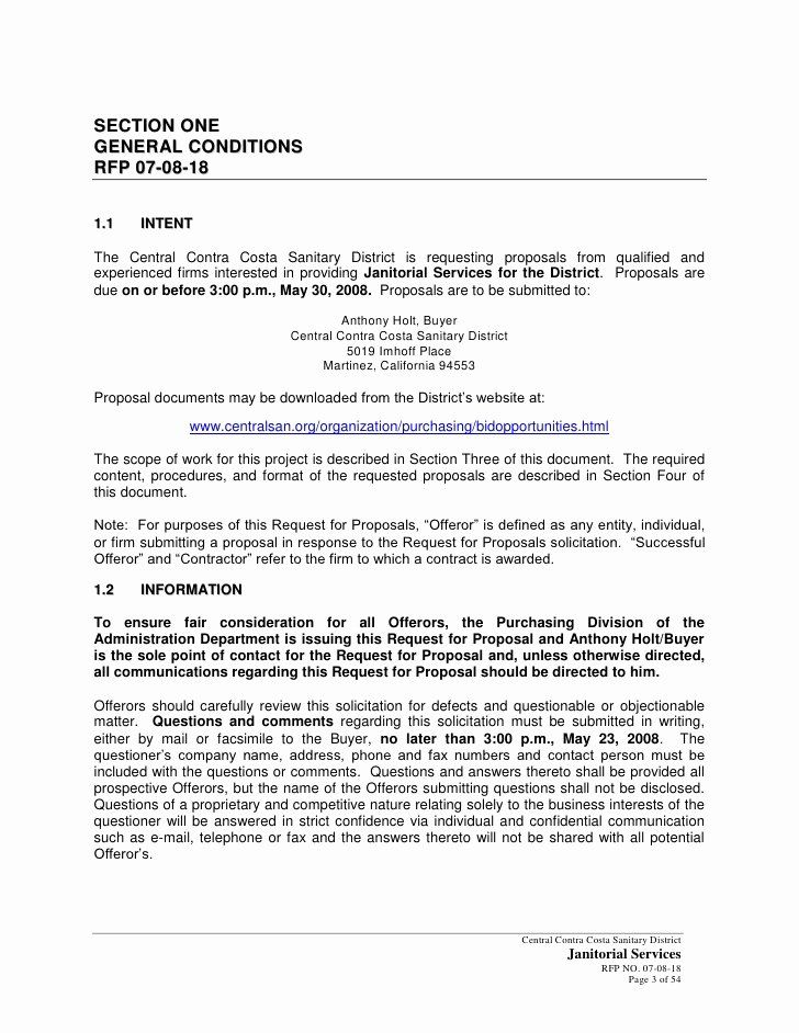 Government contract proposal template beautiful government