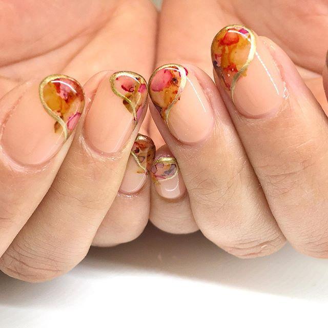 Pin On Fall Nail Art Designs