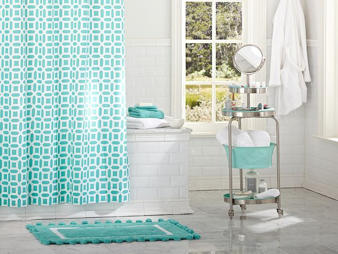 I love the pbteen peyton bathroom on pbteencom pottery for Pottery barn teen bathroom