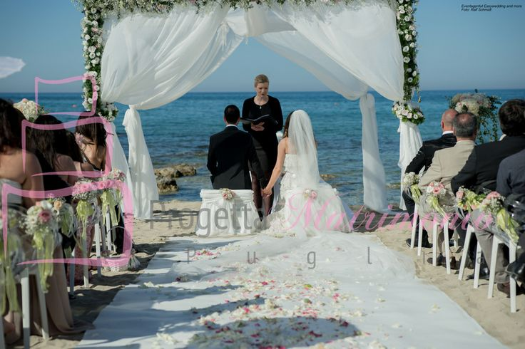 matrimonio in spiaggia - Puglia