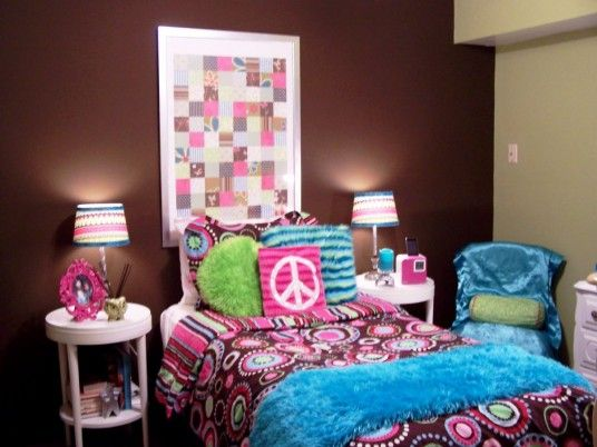 modern girls room decorating ideas - Teenage Girl Bedroom Decorating Ideas
