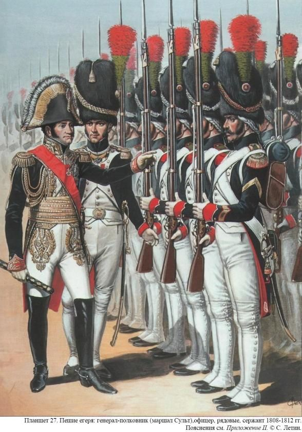 The Chasseurs a Pied de la Garde Imperiale. The other half of the crack Old Guard infantry, and apparently more lively than their serious Grenadier brothers!