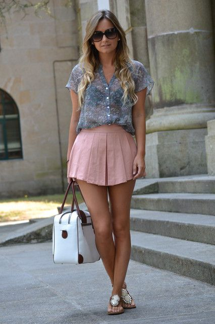Sexy preppy Summer outfit