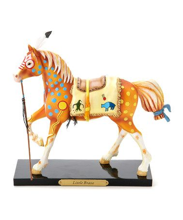 Take a look at this Little Brave Horse Figurine by The Trail of Painted Ponies on @zulily today!