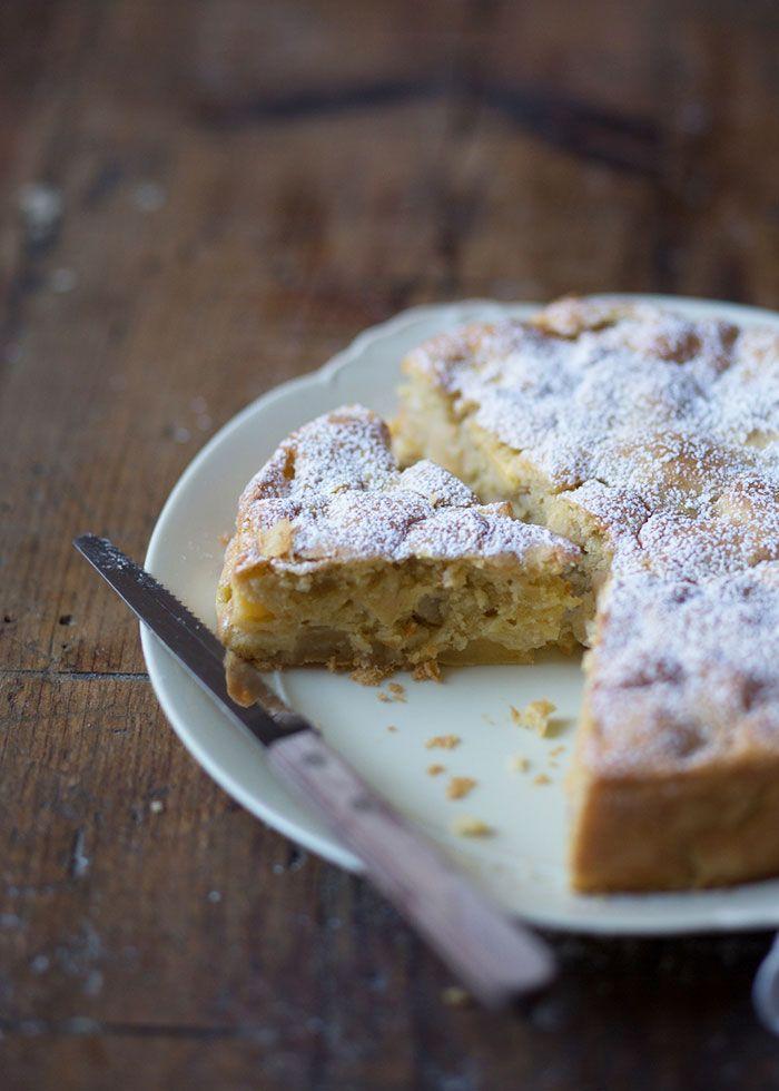 Venetian Apple Lemon Cake — Cavoletto