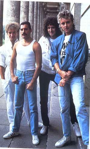 Queen are a British rock band formed in London in 1970, originally consisting of Freddie Mercury (lead vocals, piano), Brian May (guitar, vocals), John Deacon (bass guitar), and Roger Taylor (drums, vocals). Queen's earliest works were influenced by progressive rock, hard rock and heavy metal, but the band gradually ventured into more conventional and radio-friendly works, incorporating further diverse styles into their music.