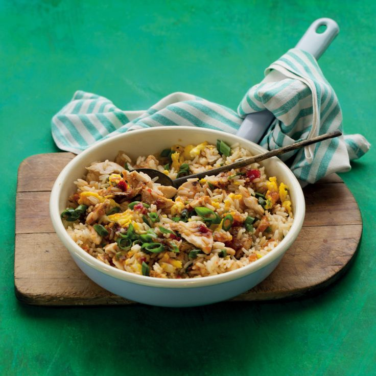 Fried rice with leftover meat - MyKitchen