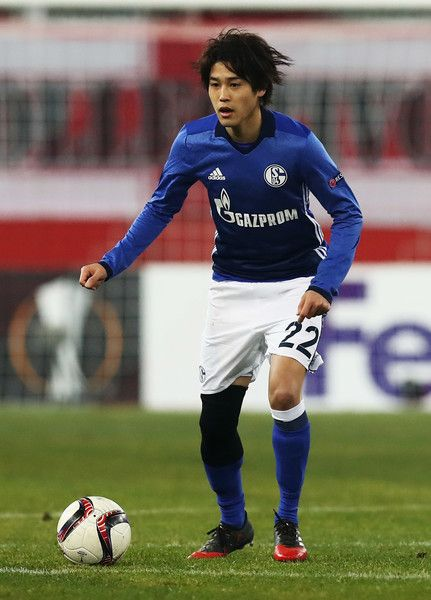 Atsuto Uchida of Schalke in action during the UEFA Europa League match between FC Salzburg and FC Schalke 04 at Red Bull Arena on December 8, 2016 in Salzburg, .