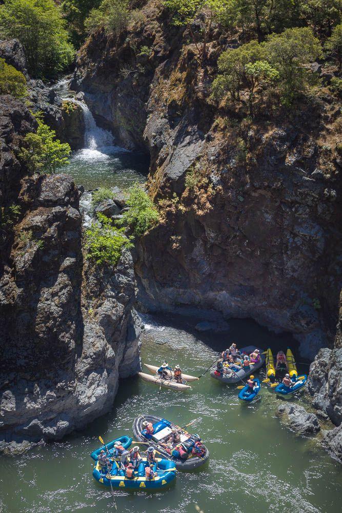 Rafts on the Rogue River below Stair Creek via @nwrafting