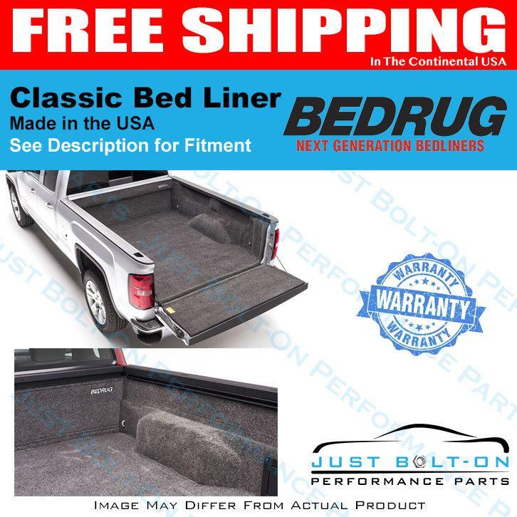 Bedrug Fits 2015 2018 Gm Colorado Gmc Canyon Crew Cab 6 Bed