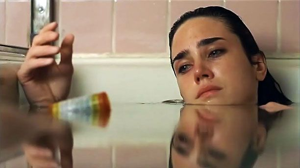 Here's a question: Can a single shot sum up a performer's entire career? Jennifer Connelly spends most of this praised-but-kind-of-forgotten drama in a steadily declining