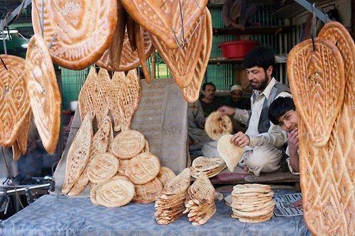 Afghani Naan (bread) Peshawar, Pakistan Picture : Nadeem a Khan