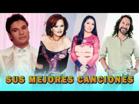 Rocío Dúrcal, Juan Gabriel, Ana Gabriel, Marco Antonio Solís EXITOS Sus Mejores Canciones - YouTube