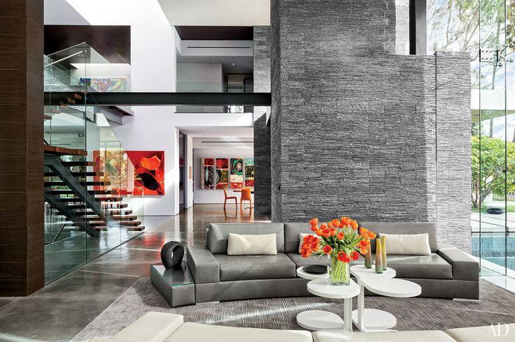 Gray Living Room Ideas | Architectural Digest (=)