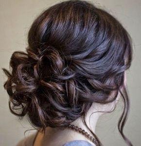 Penteados de festa para casamentos  à noite e durante o dia                                                                                                                                                                                 Mais