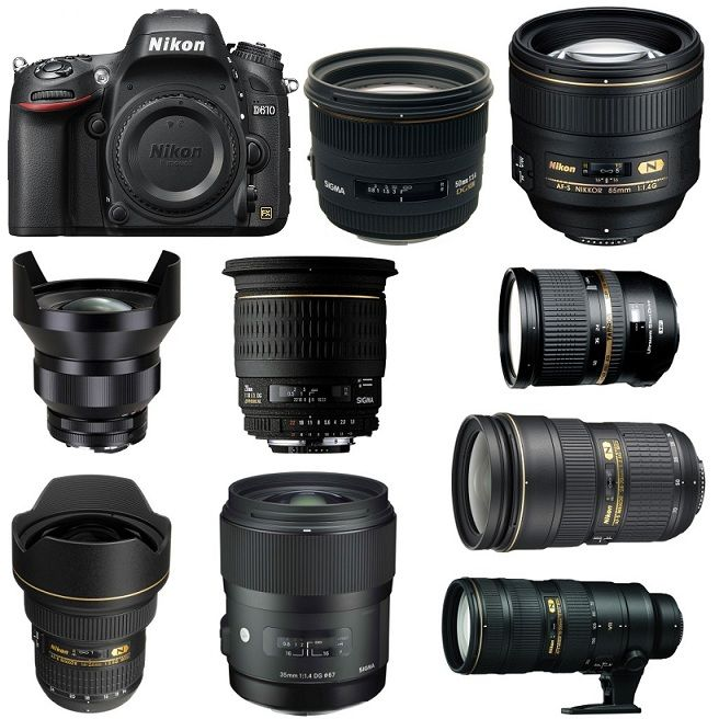 Best Lenses for Nikon D610 DSLR Camera