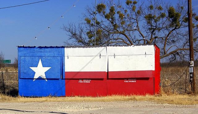 Texas Fireworks Stand by KAZPIX, via Flickr