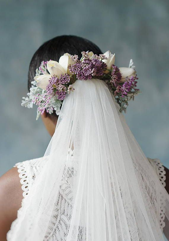 Stunning Bridal Veil Constructed With High Quality Artificial