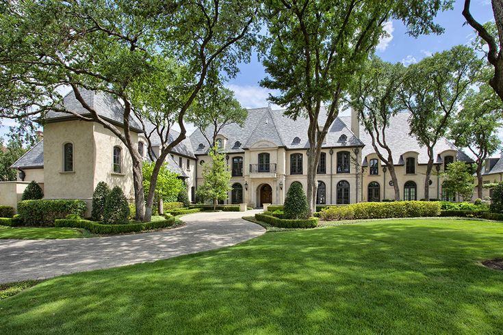 French Chateau In Dallas Texas 12 000 Sq Ft Of Luxury