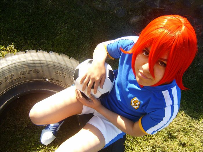 Cosplay Inazuma Eleven Hiroto Kiyama