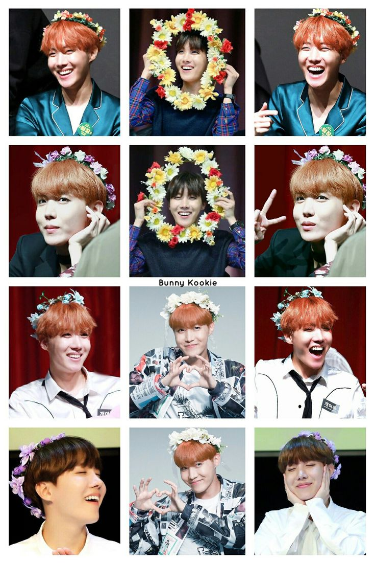 More proof Jhope is a flower boy