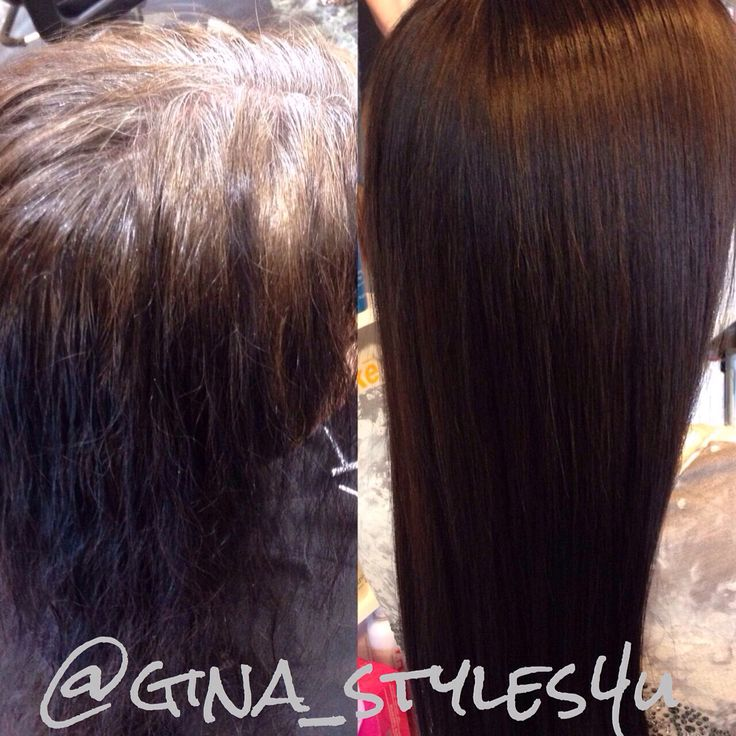No More Box Color Black And Grey Roots Rich Chocolate
