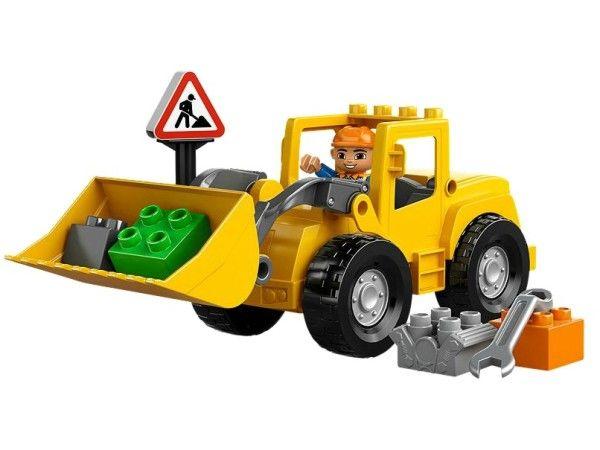 EXCAVATORUL MARE LEGO DUPLO (10520) Muta cele mai grele caramizi folosind Excavatorul mare LEGO DUPLO ce are functie de incarcare si roti mari, cu ajutorul muncitorului, indicatorului si caramizilor asortate !