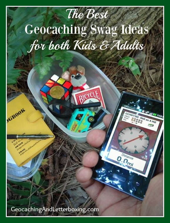 Part of the fun of geocaching is the trading aspect which makes it seem more like a treasure hunt. Here are some geocaching swag ideas to get you started.