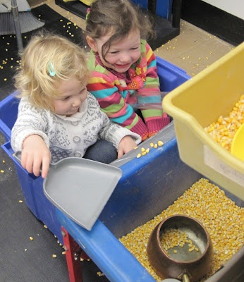 """Sand and Water Tables Blog *I loved the March 17th blog, """"Is It Allowed?"""" It is inspiring how the teacher allowed and cultivated the children's independence."""