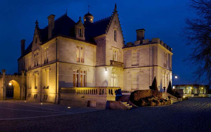 Chateau Pape Clement - oldest winery in Bordeaux