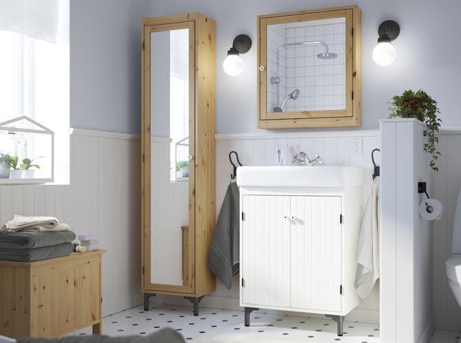 The 25 best armoire salle de bain ideas on pinterest for Armoires salle de bain ikea