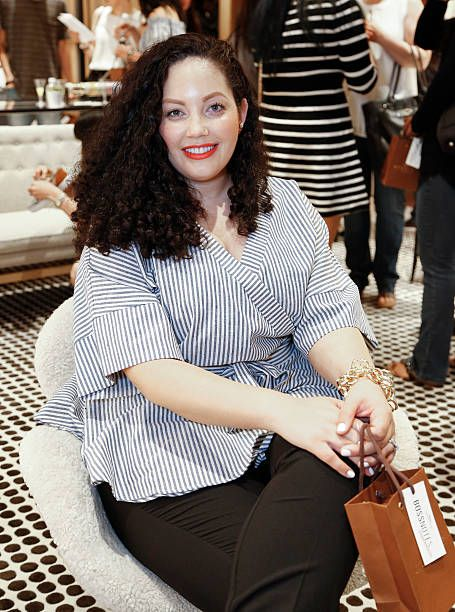 Tanesha Awasthi at the Westfield x Who What Wear Presents: Boss Notes At Westfield Valley Fair Mall on April 30, 2016 in Santa Clara, California.
