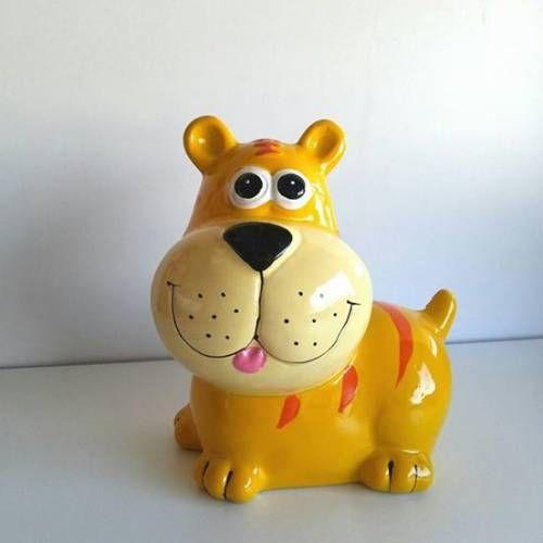 Köpek Figürlü Seramik Kumbara GittiGidiyor'da 268576158