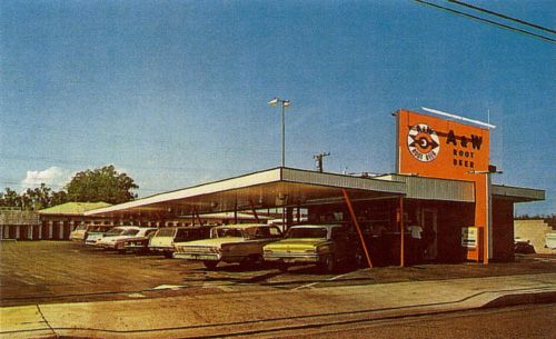 A & W Root Beer stand