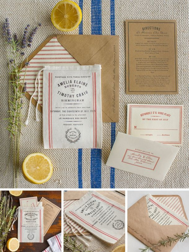 10 Unique & Creative Wedding Invitation Packages | SouthBound Bride www.southboundbride.com/10-unique-wedding-invitation-packages Credit: Lucky Luxe