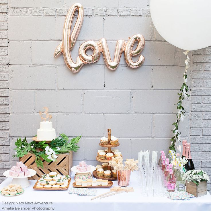 LOVE Script Foil Balloon in Rose Gold - 24in. Tall (Non Helium)