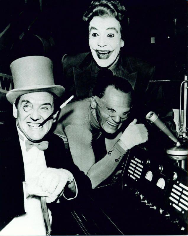 Penguin, Riddler and Joker, c.1966