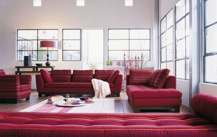 Living Room Inspiration: 120 Modern Sofas by Roche Bobois (Part 1/3) | HomeDSGN, a daily source for inspiration and fresh ideas on interior design and home decoration.