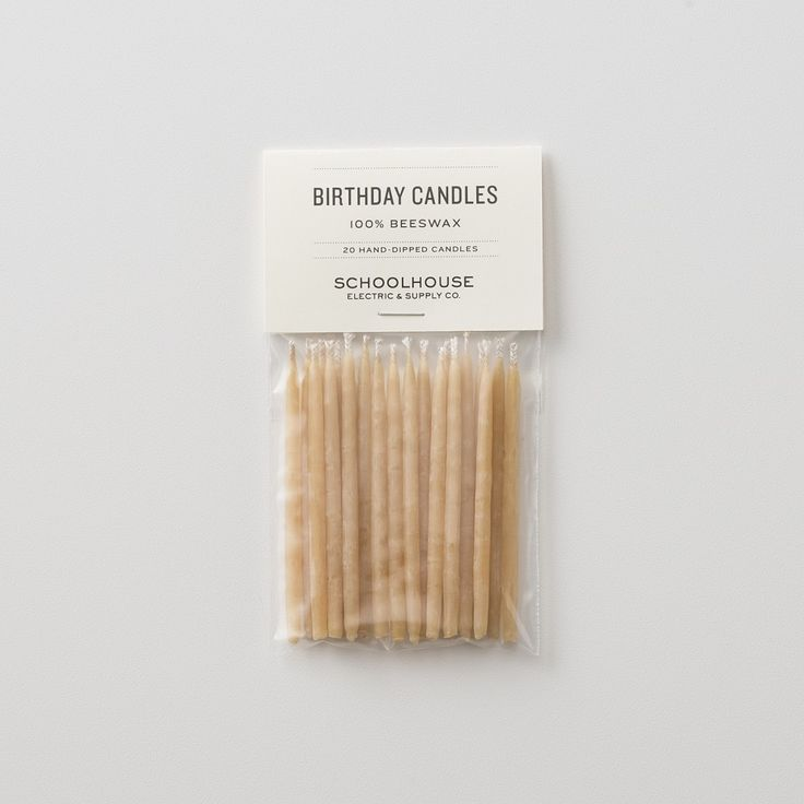 As sweet as can be, these petite amber-hued candles are a splendid topper for any celebration. Made entirely from beeswax with a 100% cotton wick.