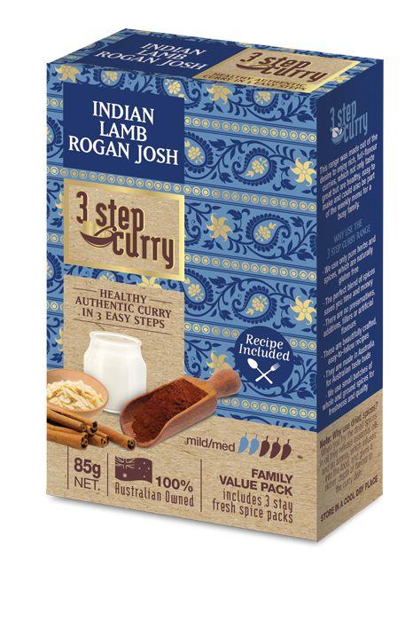 Indian Lamb Rogan Josh « 3 Step Curry