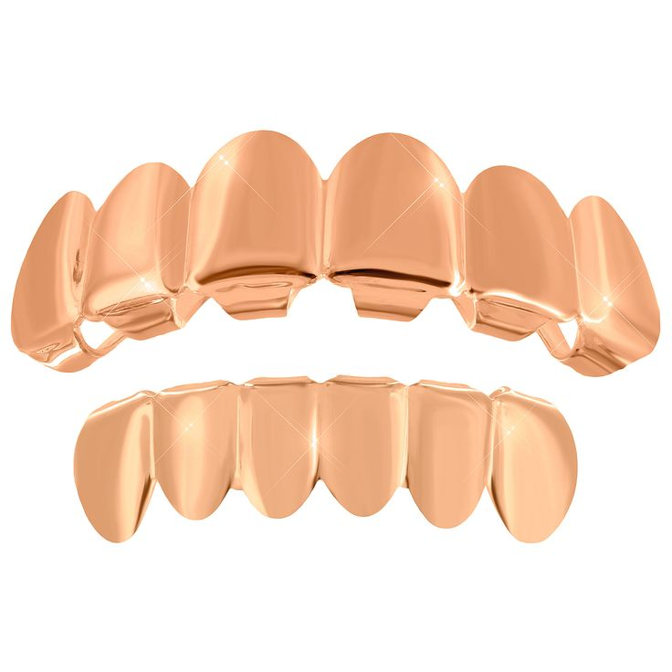 This is a brand new stylish cut grills for teeth made of brass with 14k rose gold finish over it.One size for all (Most will fit 98% of the people. Easy to fit.). Stock Number :V01-(7250)FHR-L001-BOTT