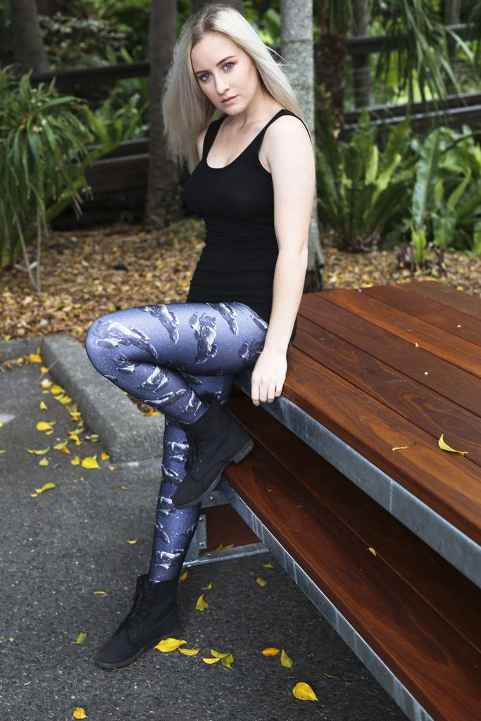 Ah The Serenity Leggings - $75.00 AUD