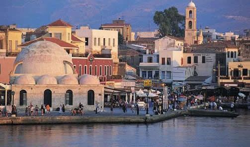 Chania Old Town Crete