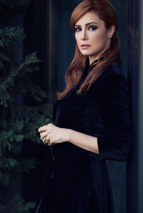 Turkish actress Mine Tugay