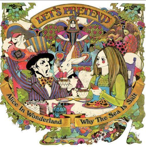 70sscifiart: 1970 Lets Pretend album art byDavid Chestnutt  70sscifiart:  1970 Lets Pretend album art byDavid Chestnutt