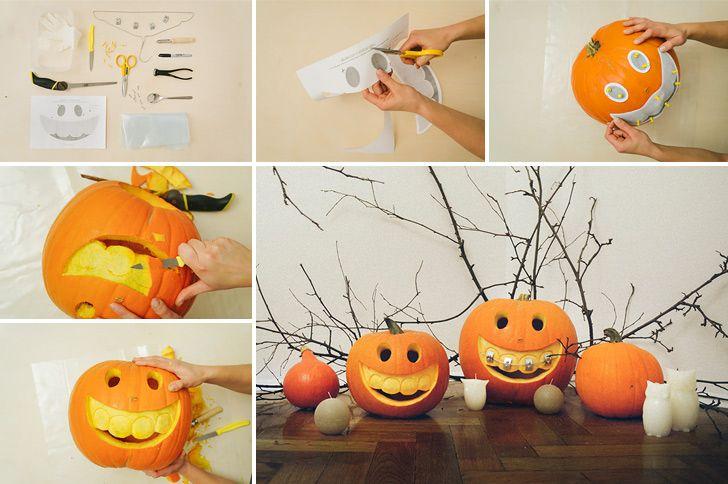 How to make... http://www.handimania.com/diy/halloween-jack-o-lantern-with-braces.html