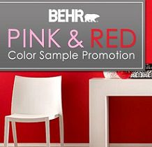 FREE Behr Paint Sample Giveaway on http://hunt4freebies.com