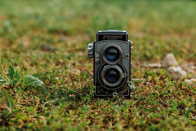 Analog Camera by Hombre-cz on Creative Market